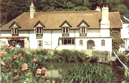 View of the Mill House across the Duck Pond